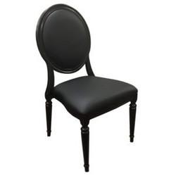 Black Pop Louis Chair