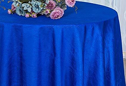 Crinkle Taffeta Royal Blue