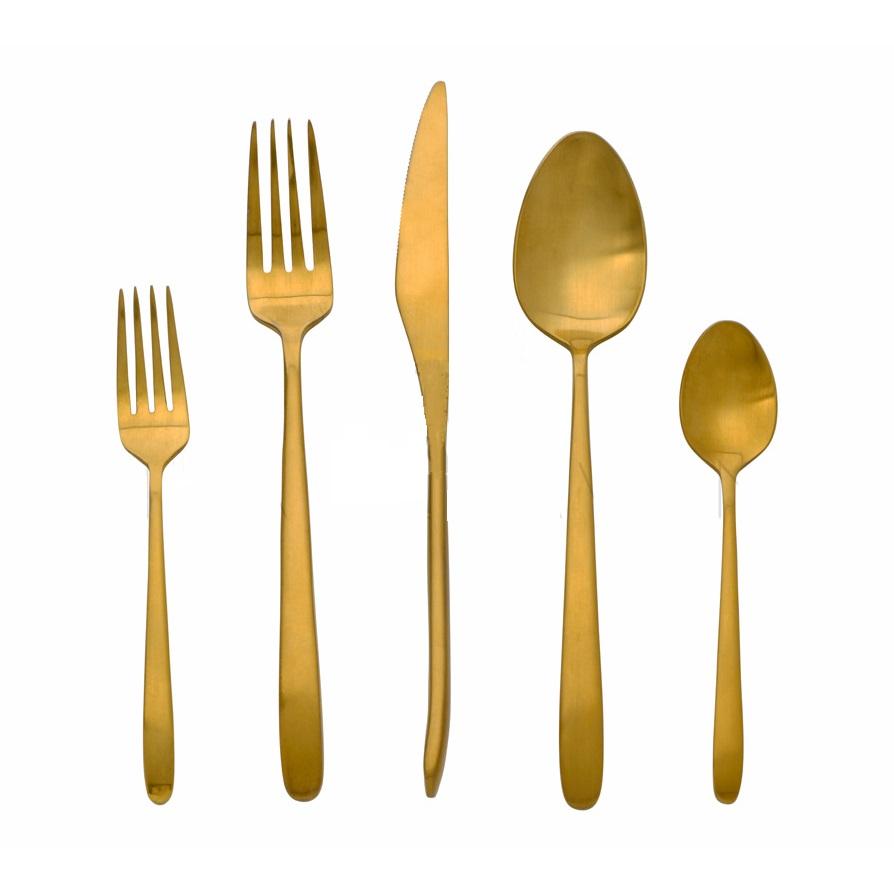 Flatware Gold Matte