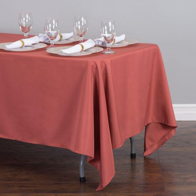 Rectangular Tablecloth Marsala