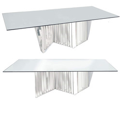 Krypotnite Dining Mirror Table 8ft