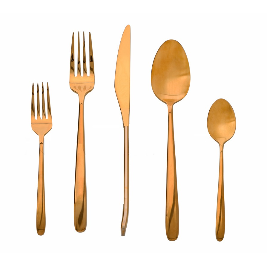 Flatware Rose Gold