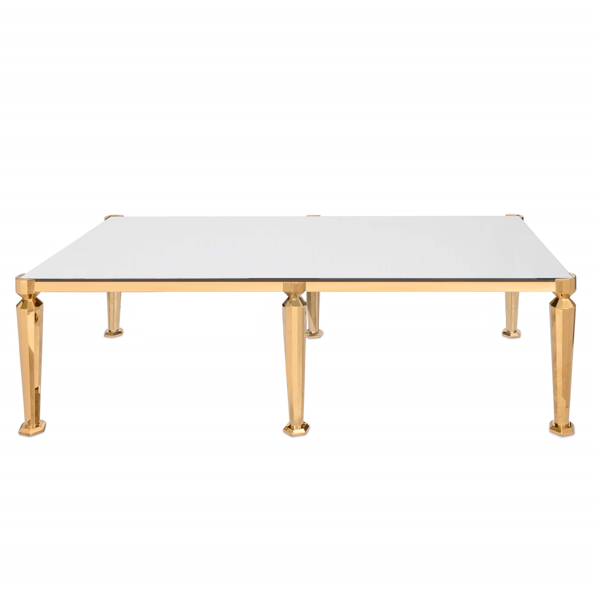 Venus Dining Table Gold 8ft