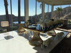 Fishnet Table