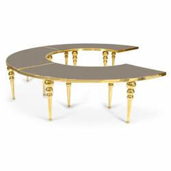 Dubai Serpentine Table Black