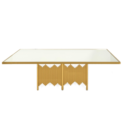 Divine Dining Table 8' Gold