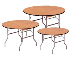 "Round Tables 24"", 30"", 36"", 48"", 54"", 60"", 72"""