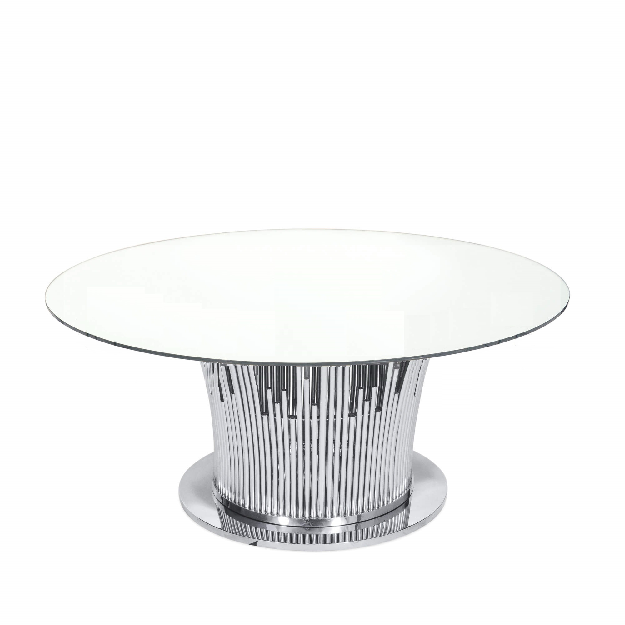 Diving Round Table  Silver