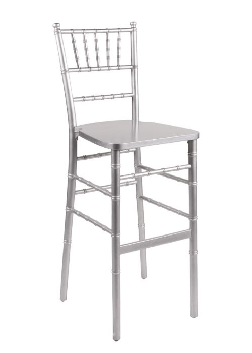 Chiavary Bar Stool Silver