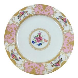 Antoinette Dinner Plate Pink