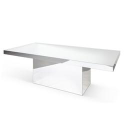 Mirror Table Silver 8'x4'