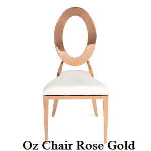 Rose Gold White Oz