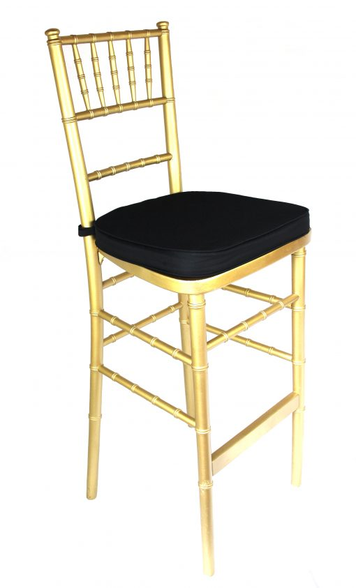 Chiavary Bar Stool Gold