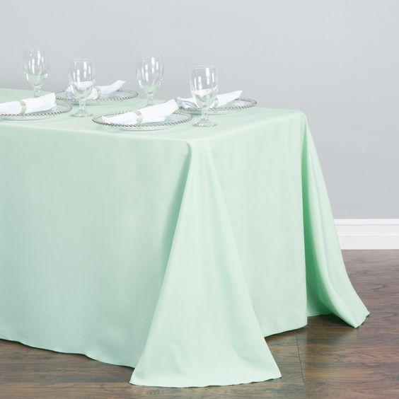 Rectangular Tablecloth Hemlock