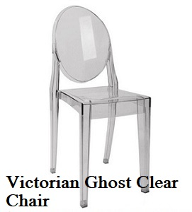 Victorian Clear Ghost Chairs