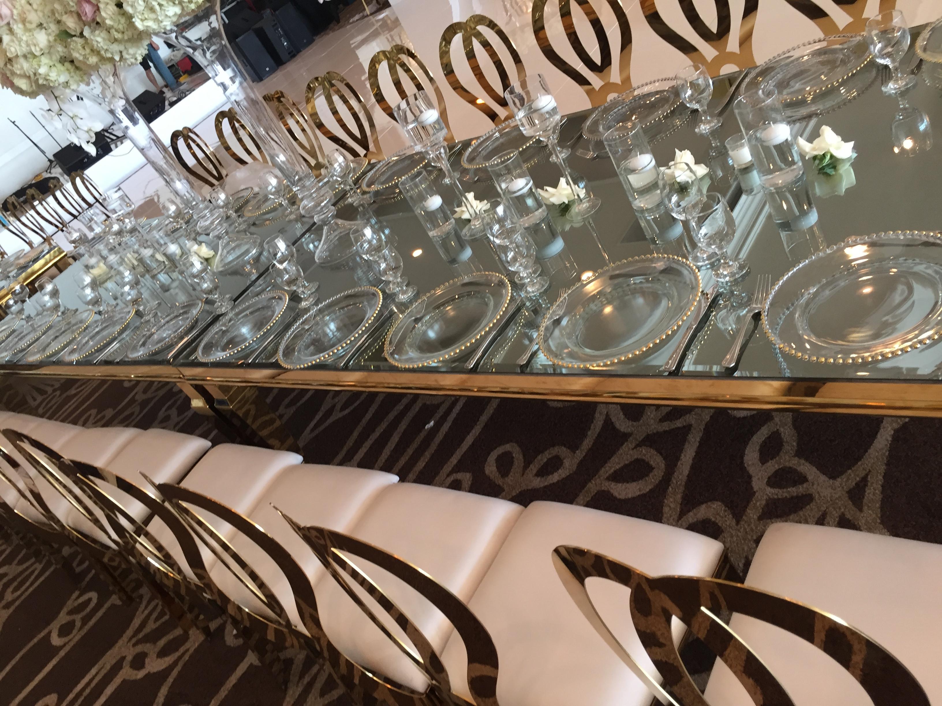 Gorgeous setup by Shiraz Party Rental