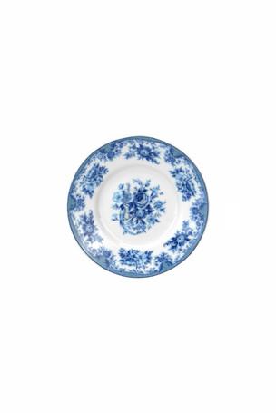 Blue Design Saucer