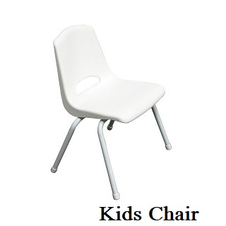 Children's Chairs (White, Red, Blue, Gre