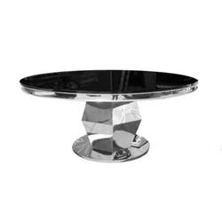Round Washington Table Chrome