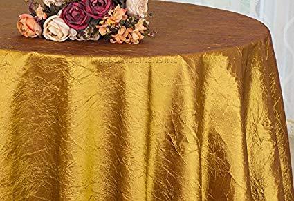 Crinkle Taffeta Gold