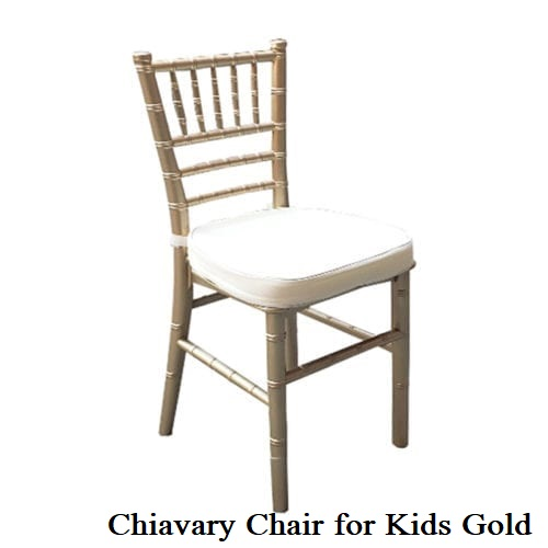 Kids Gold Chiavary Chair