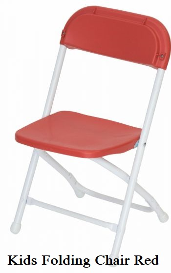 Kids Folding Chair Red
