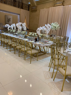 Our Marble Dining Table