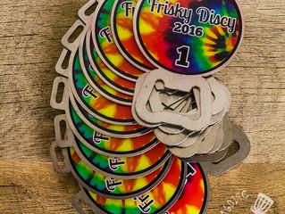 Disc Golf Bag Tags - Frisky Discy