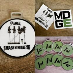 SMASH MEMORIAL this weekend _) #discgolf #smashpark #mdge #growthesport