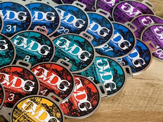DISC GOLF BAG TAGS for GVDC