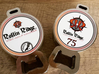 Rollin Ridge Disc Golf Course Bag Tags