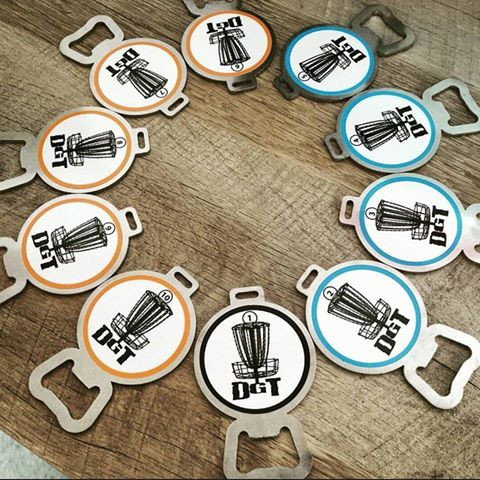 DISC GOLF BAG TAGS for DGT