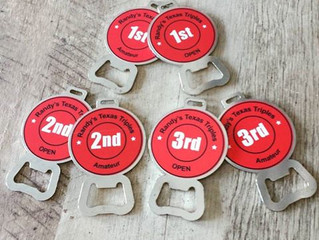 Randy's Texas Triples Bag Tags