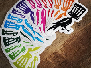 Disc Golf Decals/ Stickers