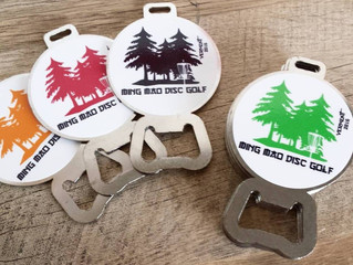 Ming Mao Disc Golf Tags
