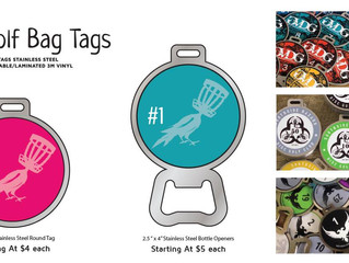 DISC GOLF BAG TAG prices