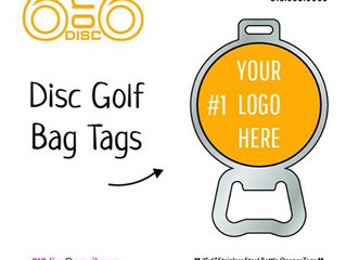 ORDER HERE! DISC GOLF BAG TAGS!