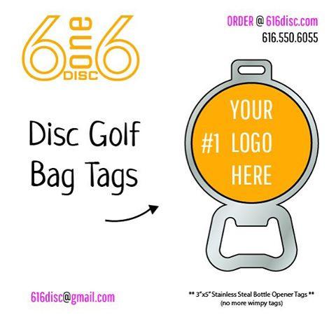 DISC GOLF BAG TAGS