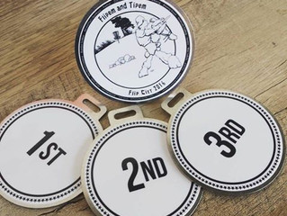 Flip City Disc Golf Bag Tags