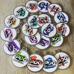 Bag tags for El Paso Disk Golf PROSHOP