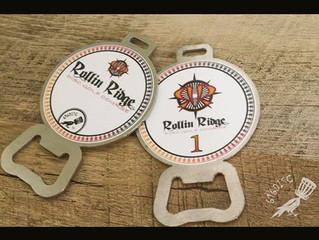 DISC GOLF BAG TAGS for ROLLIN RIDGE