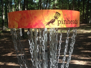 Pinhead Wrap for Disc Golf Baskets