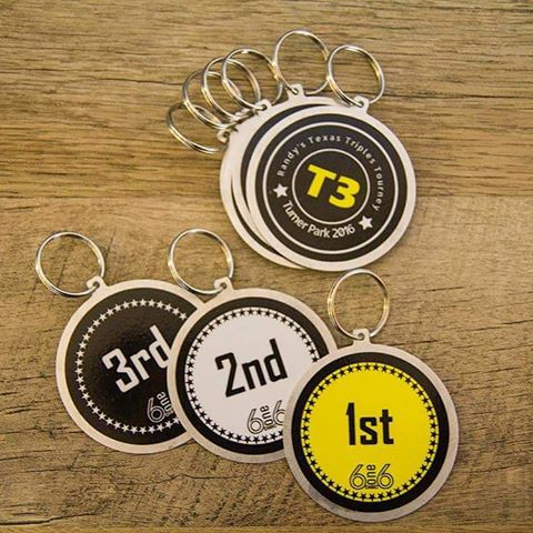 DISC GOLF BAG TAGS for T3