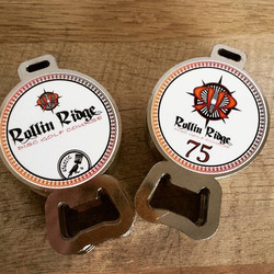More tags for Rollin Ridge DGC! #growthesport #silvercup #pdga  #discgolfprotour #discgolfbagtags #b