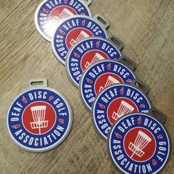 Bag Tags for Deaf Disc Golf Association