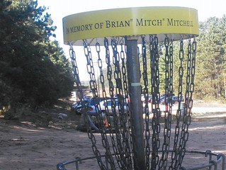 "In Memory of Brian ""Mitch"" Mitchell - Pinhead Wrap"
