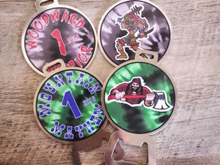 Woodward Warrior Disc Golf Bag Tags