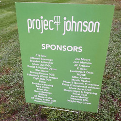 Project Johnson fundraiser tomorrow