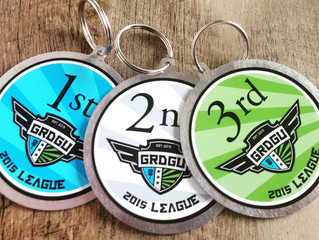 Disc Golf Bag Tags - GRDGU