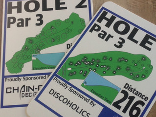 Disc Golf Course Signs